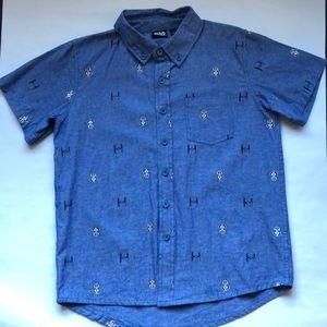 Star Wars Short Sleeve Button Down Shirt